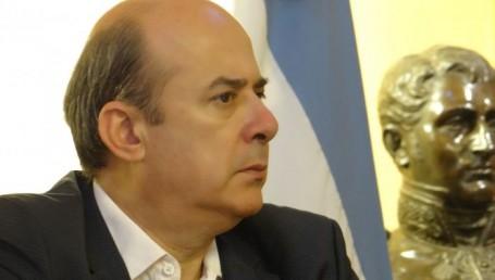 El vicegobernador Canteros por la unidad