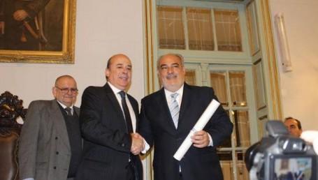 Tercer mandato de Colombi, en un día histórico