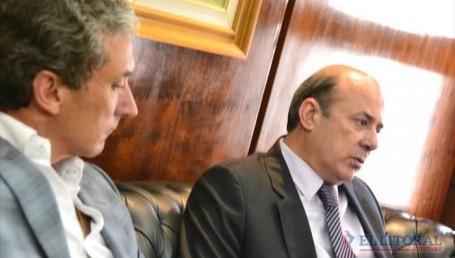 Pepe Scioli respaldó al gobernador Colombi