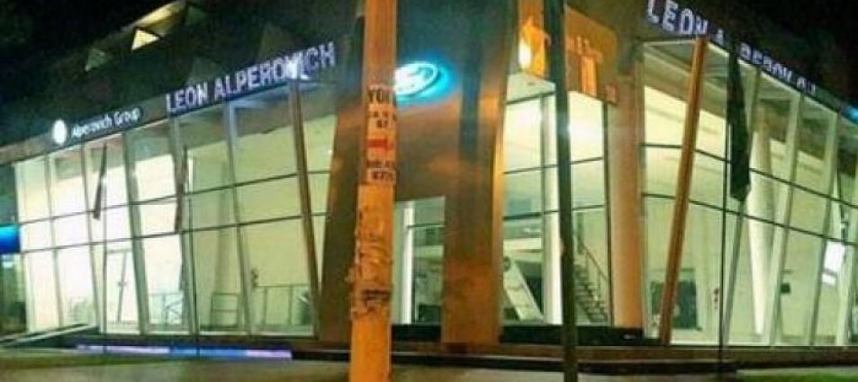 Alperovich mandó a vaciar su concesionaria antes de los robos