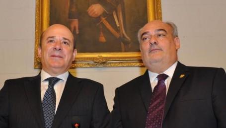 Juraron el gobernador Colombi y el vice Canteros
