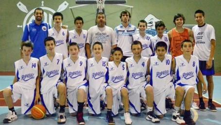 Regatas, subcampeón argentino de clubes U13