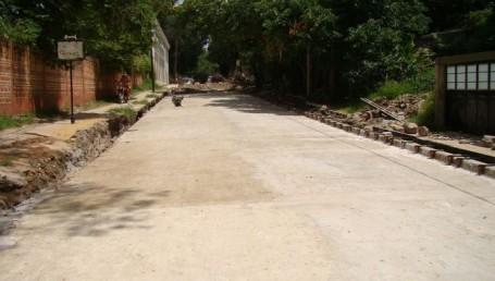 Histórico: finalizó hoy el pavimento de El Yacaré