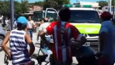 Un herido en gresca entre vendedores ambulantes