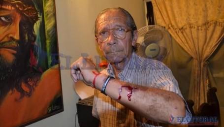 Agredieron a un fotógrafo del diario El Litoral: tuvo que recibir atención médica