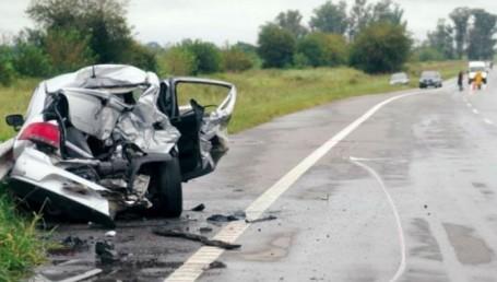 Tragedia en la Ruta 14: cinco personas calcinadas