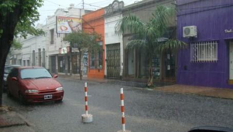 La lluvia volvió a Corrientes y monitorean las zonas afectadas por la inundación