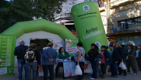 Inicia la Campaña de Vacunación en Peatonal Junín
