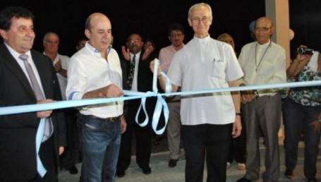 Canteros en paraje Yacarey: nueva capilla Santa Ana