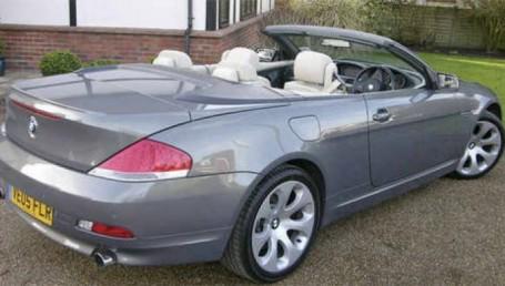 Beckham pone en venta su BMW