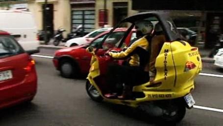 Las mototaxis, una alternativa que crece en Buenos Aires