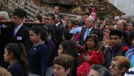 Canteros destacó la importancia de la fé en el origen de la Nación