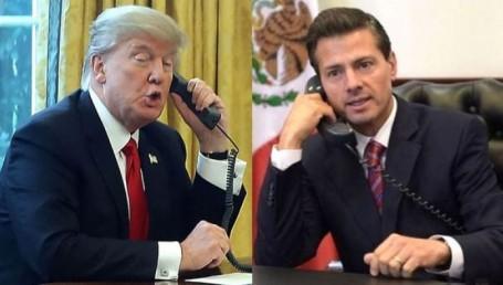 """""""Humillante"""" trato de Trump a Peña Nieto"""