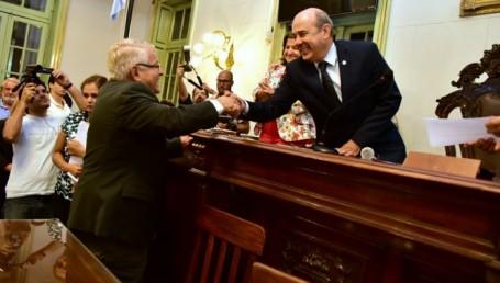 Canteros desempató y el oficialismo retuvo la vicepresidencia del Senado
