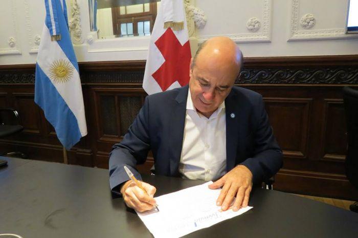 """Canteros se suma a la Campaña """"Un millón de Firmas por Cruz Roja"""""""