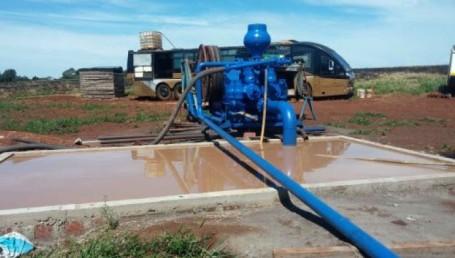 Virasoro: El ICAA inspeccionó obra de captación de agua para la central térmica