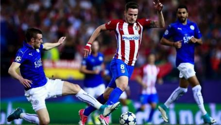 El Atlético Madrid de Simeone eliminó al Leicester y avanzó a las semifinales