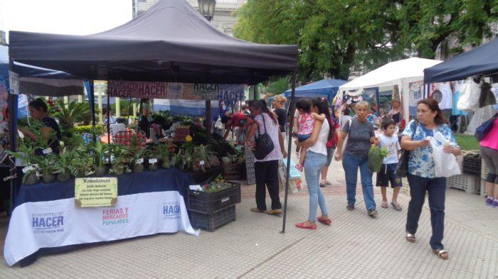 Los Mercados Populares recorren la ciudad