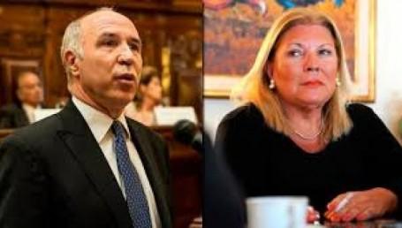 """De Lorenzetti a Carrió: """"Usted ha iniciado una guerra"""""""