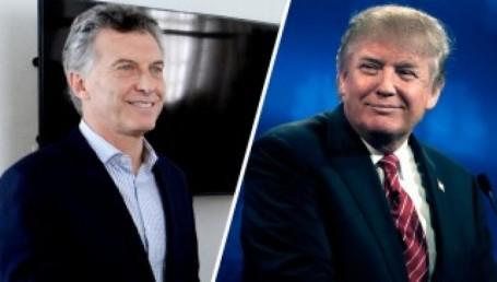 Macri viaja para reunirse con Trump