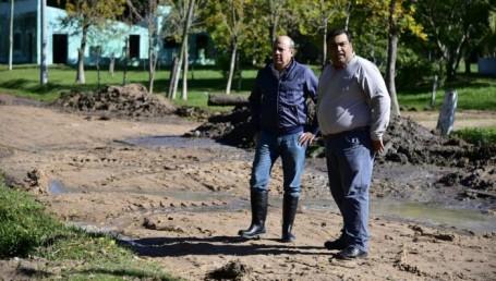 """Canteros en las zonas inundadas: """"Tenemos que estar junto a la gente"""""""