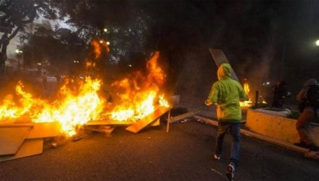 Disturbios en Brasil: manifestantes montaron barricadas