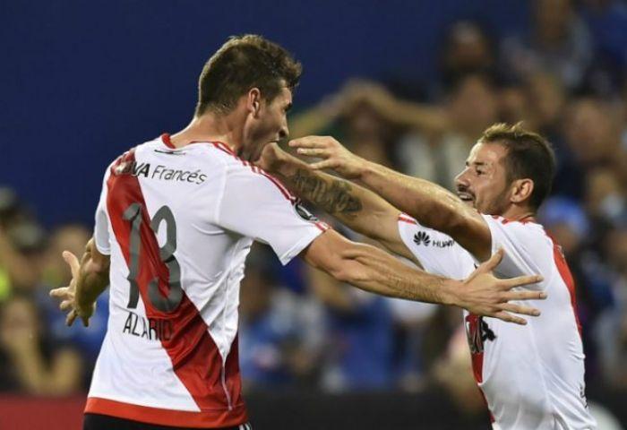 River venció a Emelec y sigue invicto en la Copa