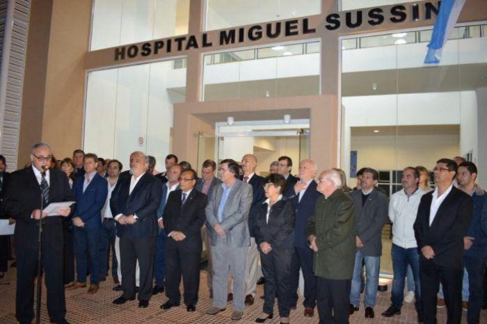 Colombi inauguró la modernización del hospital de Virasoro
