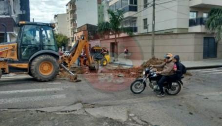 Corte en Junín y Jujuy por reparación, esta ultima estará cerrada por 7 días