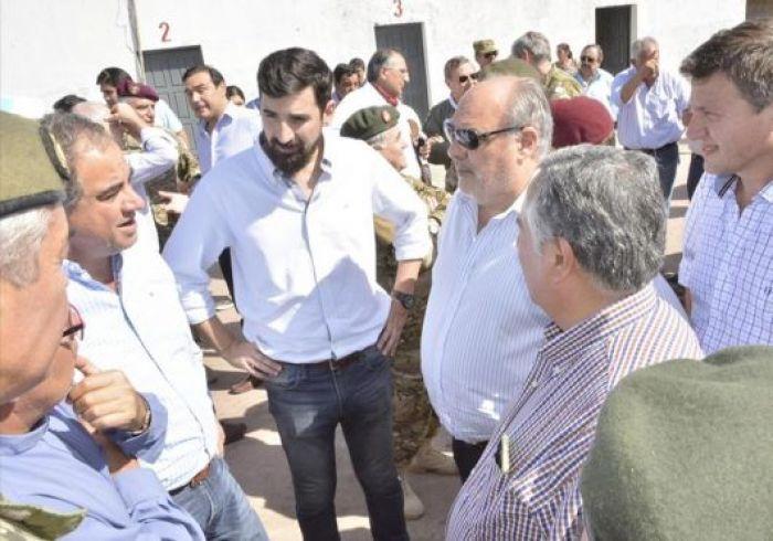 El Gobernador ratificó y amplió las medidas de acción en San Luis del Palmar