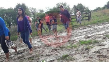 San Luis del Palmar: el drama del agua que no se va
