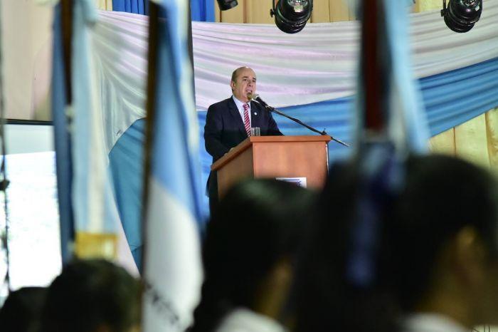 """Canteros llamó a """"sostener los valores que fundaron nuestra patria"""""""
