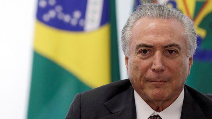 La Corte de Brasil autorizó a la Policía a interrogar a Temer
