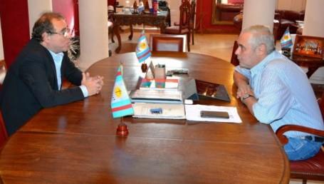 Reunión de transición entre Ríos y Tassano