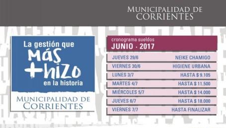 El jueves inicia el pago a trabajadores municipales