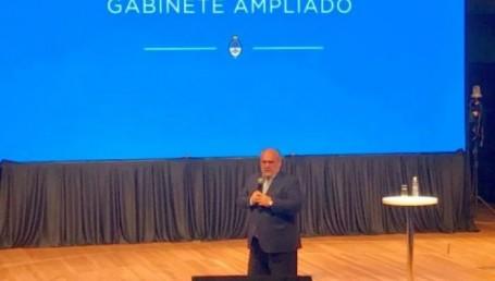 Colombi fue orador en el Gabinete del presidente Macri