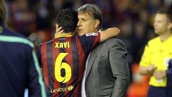 """Xavi culpó al """"Tata"""" Martino de uno de los peores mazazos de su carrera"""