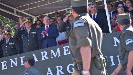 Canteros destacó la insustituible misión de la Gendarmería Nacional