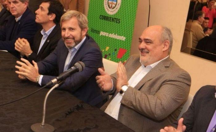 Con Frigerio, Colombi entregará tarjetas Mbareté