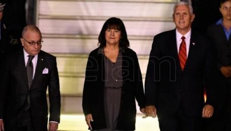 Macri recibe al vicepresidente de Estados Unidos