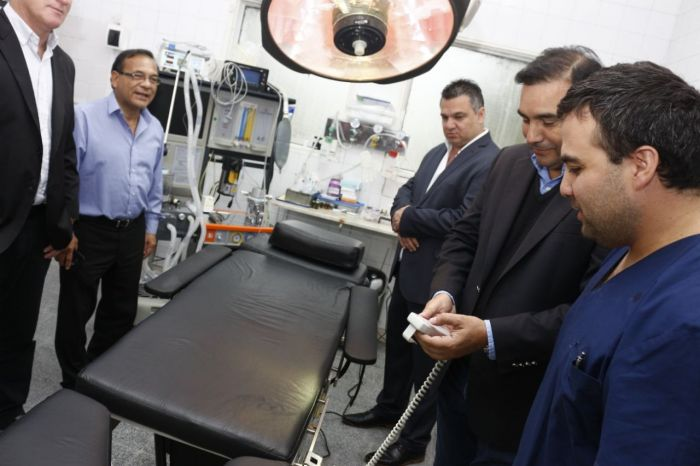 Provincia inauguró obras en el hospital de Monte Caseros