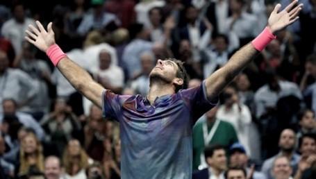 Del Potro triunfó sobre Federer y enfrentará a Nadal