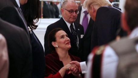 Michetti compartió una cena con Trump