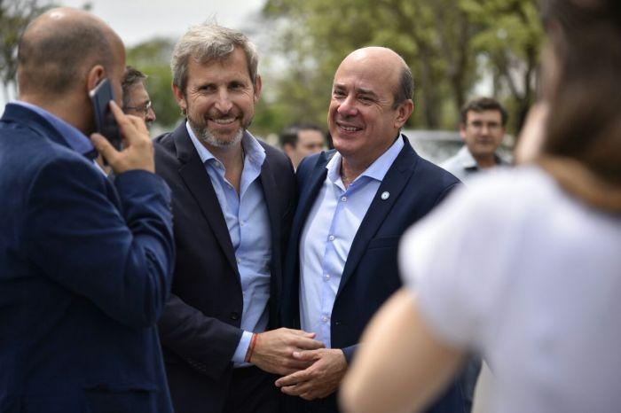 """Canteros definió a Frigerio como """"un garante de la institucionalidad"""""""