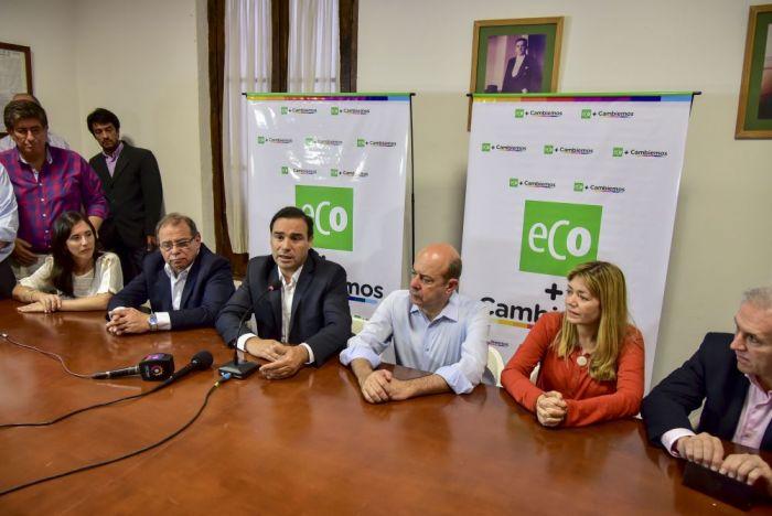 """Valdés: """"Nuestro objetivo es que los candidatos de ECo+Cambiemos lleguen al Congreso Nacional"""""""