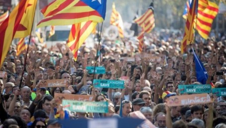 Cataluña declaró su Independencia y se constituyó como República