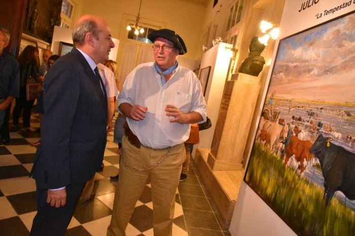 """Cultura en el Senado: """"La obra de Parada Seifert refleja lo que somos y de lo que estamos orgullosos"""""""