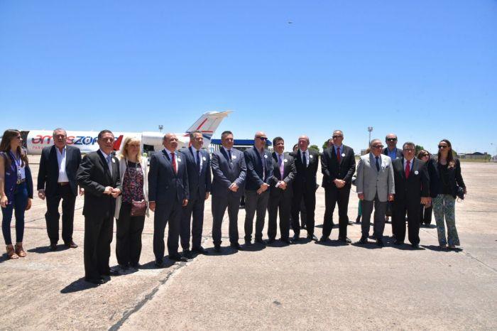 """Canteros: """"El vínculo aéreo con Asunción  representa un avance clave para el turismo�"""