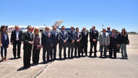 """Canteros: """"El vínculo aéreo con Asunción  representa un avance clave para el turismo"""""""