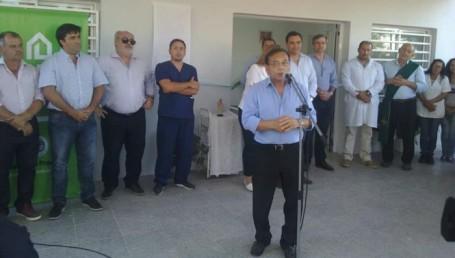 Colombi inauguró obras en paraje Cuchillas